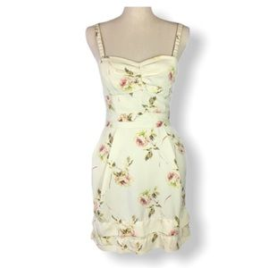 Wilfred Cream Floral Summer Dress